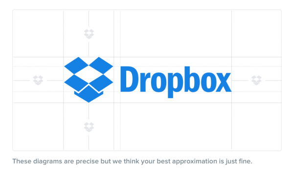 Dropbox note - Visual Insanity in Corporate Identity