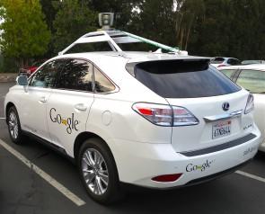Googles zelfrijdende Lexus. Foto CC Steve Jurvetson