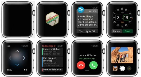 Apps op de Apple Watch