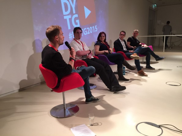 Panel bij DYTG Industry Day