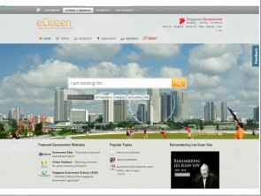 De portal voor de e-citizen in Singapore