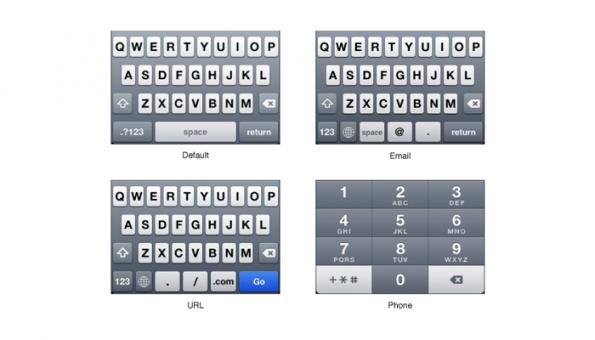 iphone toetsenborden