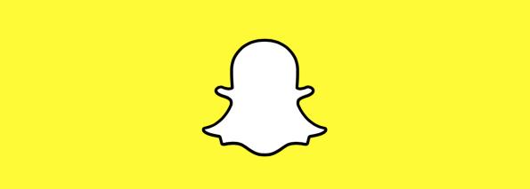 Snapchat wide Spookje zonder gezicht