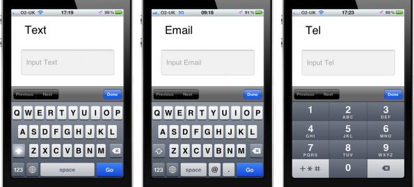 input-types