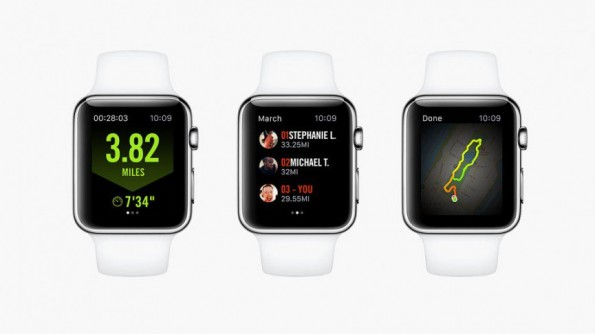 Nike Running on Apple Smartwatch