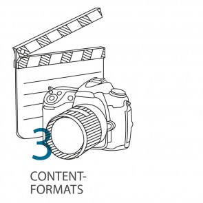 Stap 3 - contentformats en rubrieken