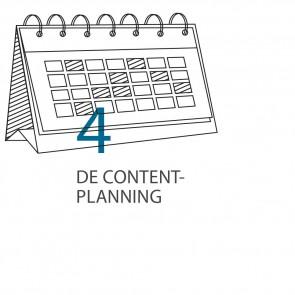 Stap 4 - De contentplanning