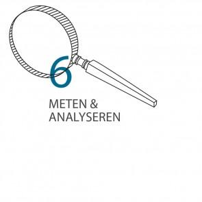 Stap 6 - Meten & analyseren