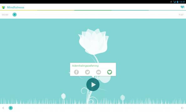 vgz-mindfulness-app