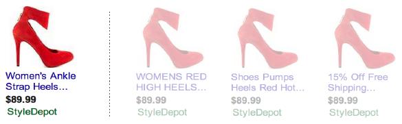 Google-Shopping-resultaten