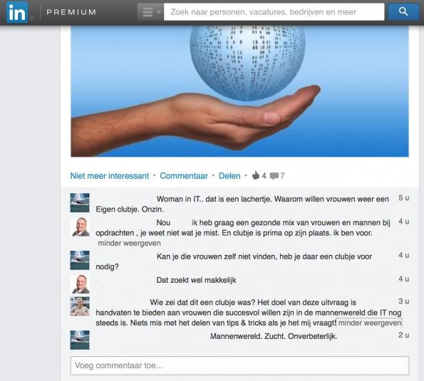 Discussie LinkedIn