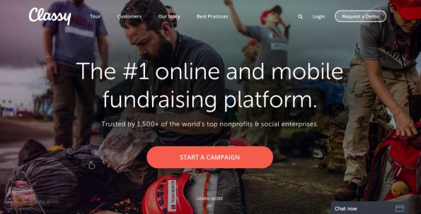 Classy: het #1 digitale fundraising platform