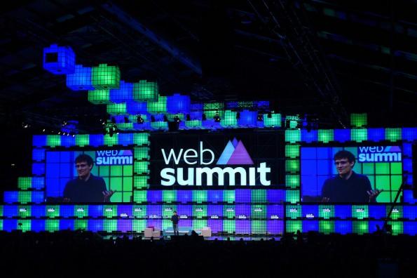 Web Summit Centre stage