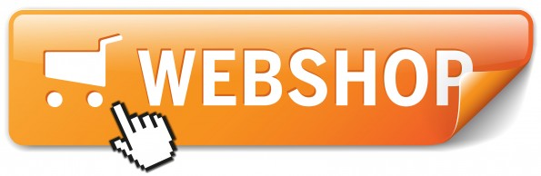 Button orange Webshop mit Mauszeiger