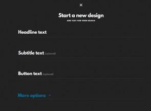 Designfeed Nieuw design starten