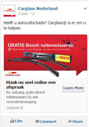 Carglass B. Facebook_Gratis_ruitenwissers