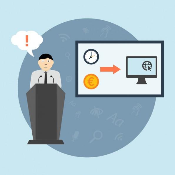 Webrichtlijnen hebben impact op onder meer tijd en budget.