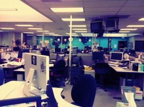 newsroom zonder mensen