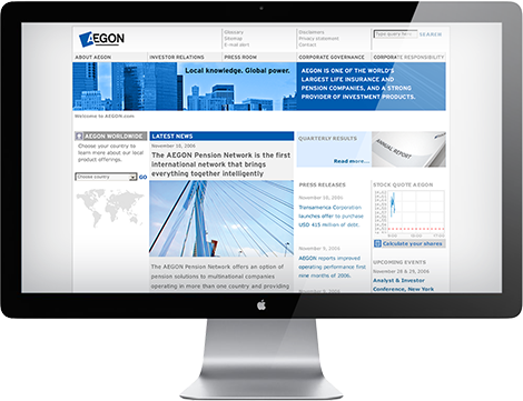 Aegon intranet