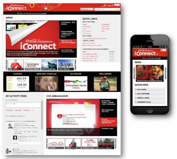 Coca-Cola intranet