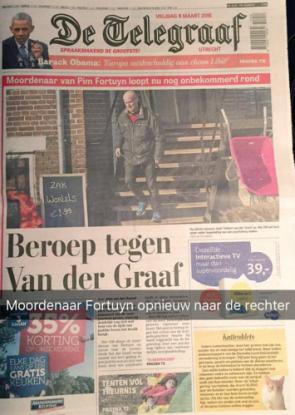 Telegraaf SNapchat