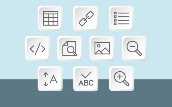 Gebruik de cms-tools om de webrichtlijnen toe te passen.