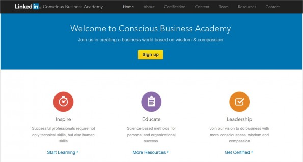 linkedin-conscious-business-academy