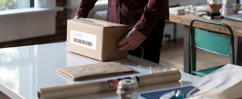 Pakket inpakken