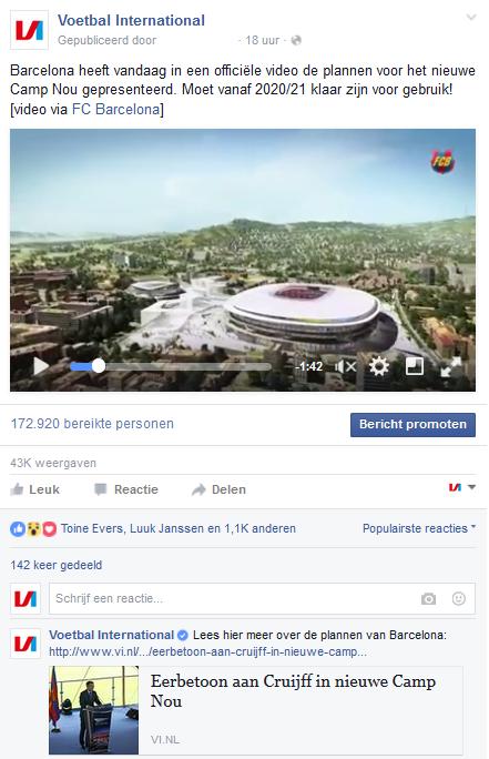 Screenshot 2 linkpost in eerste reactie