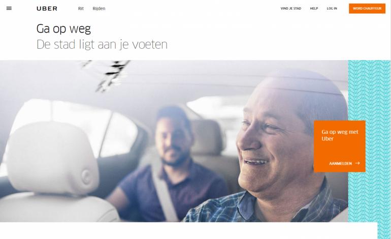 Homepage-Uber