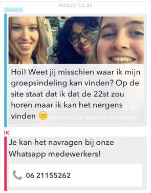Snapcare HvA Hogeschool van Amsterdam groep