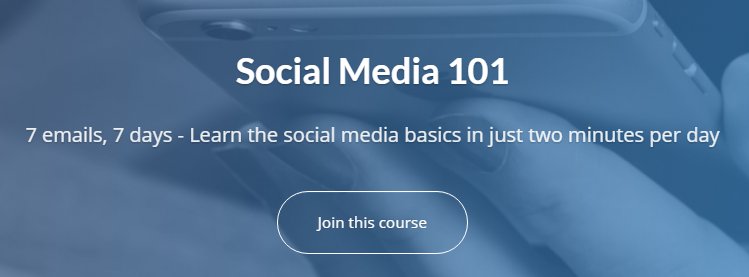 Social Media 101 course van Buffer