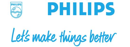 De slogan van Philips: Let's make things better.