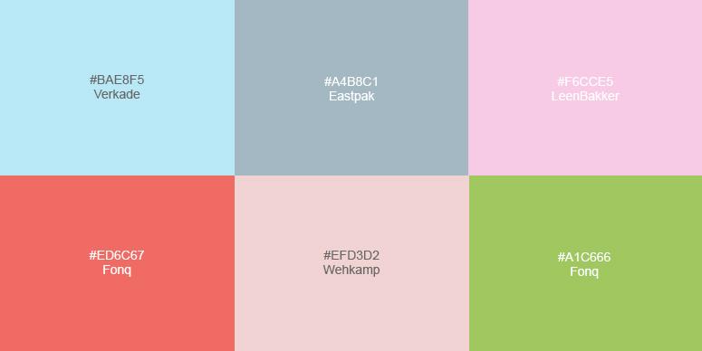 Optimistische pastels