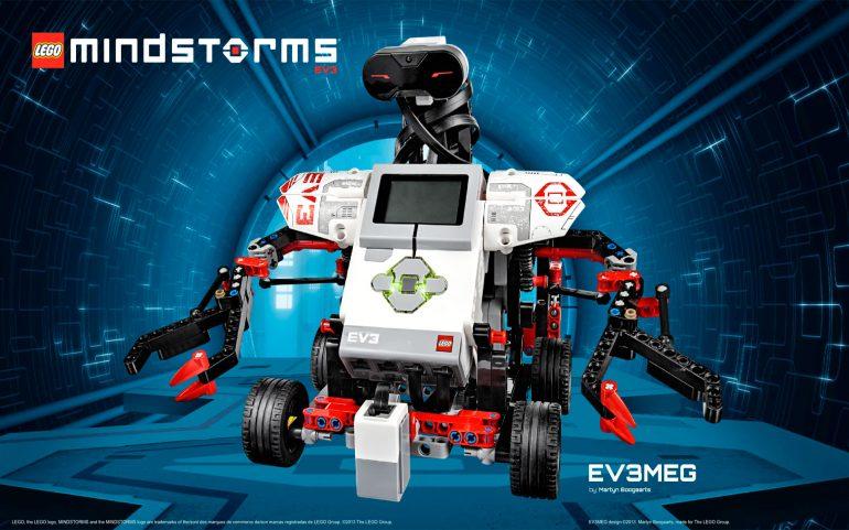 een Lego Mindstorms robot