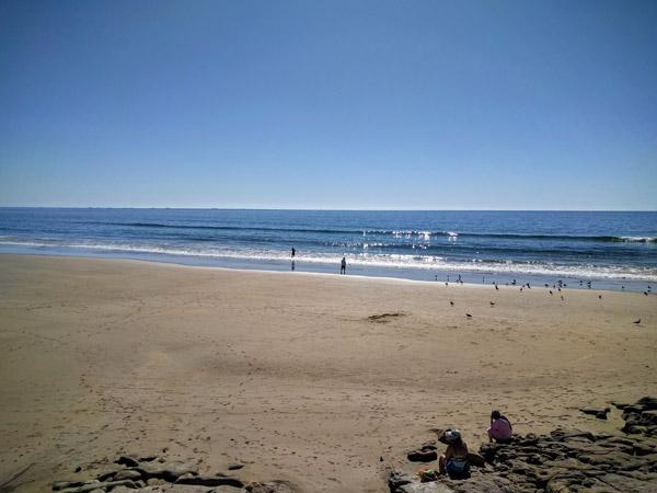 sundesk rustig strand