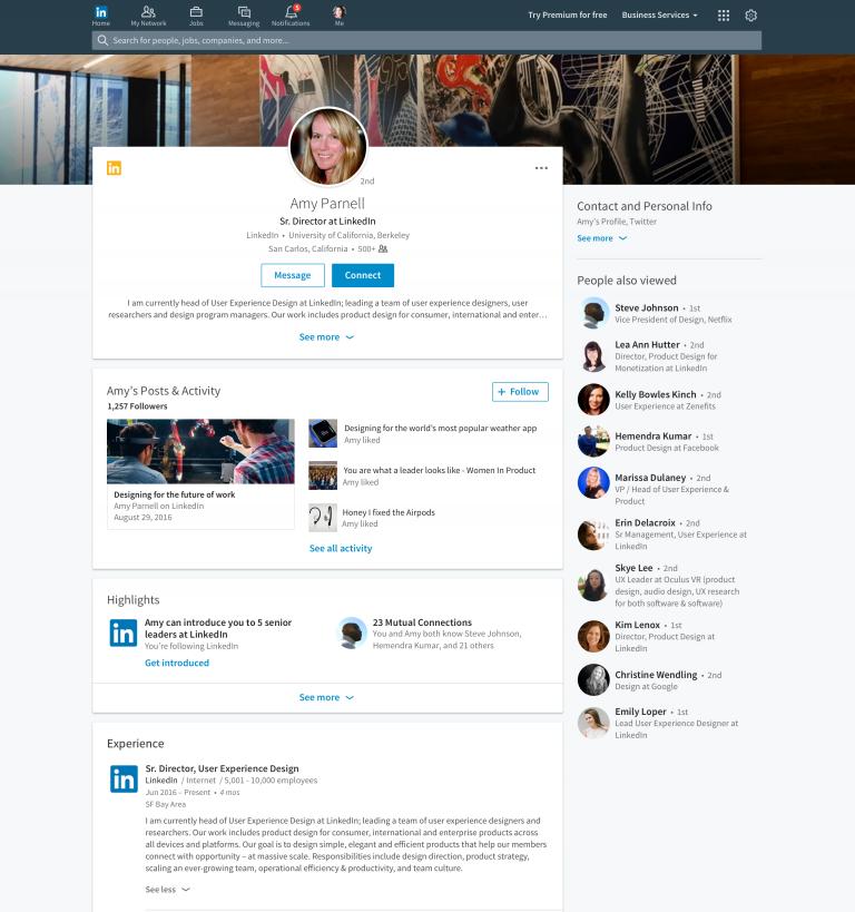 LinkedIn-profiel nieuw