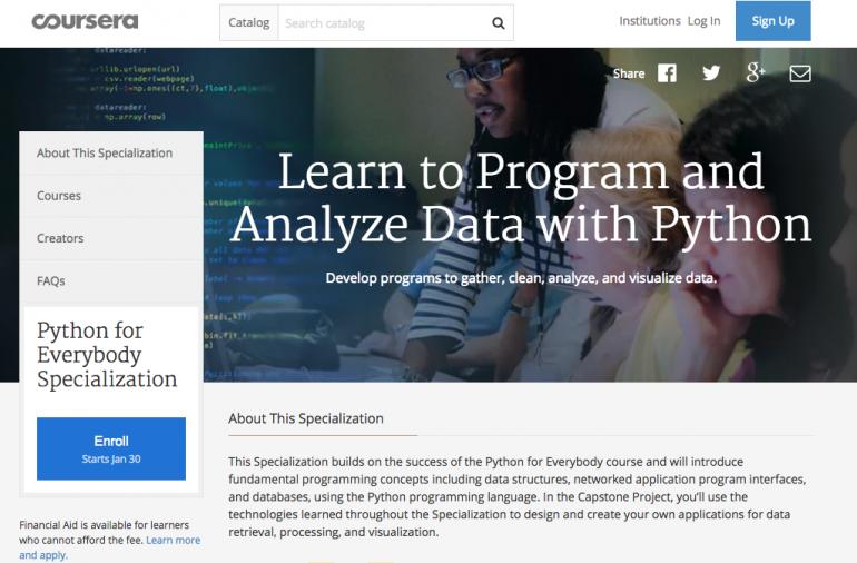 coursera leren programmeren