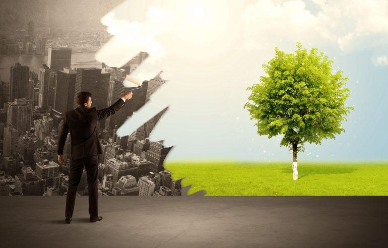 zakenman-met-verfroller-greenwashing