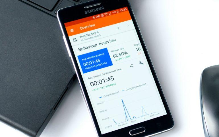 google analytics telefoon