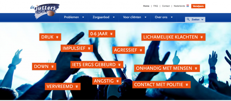 SEO in de zorg - jeugd-ggz Haaglanden De Jutters