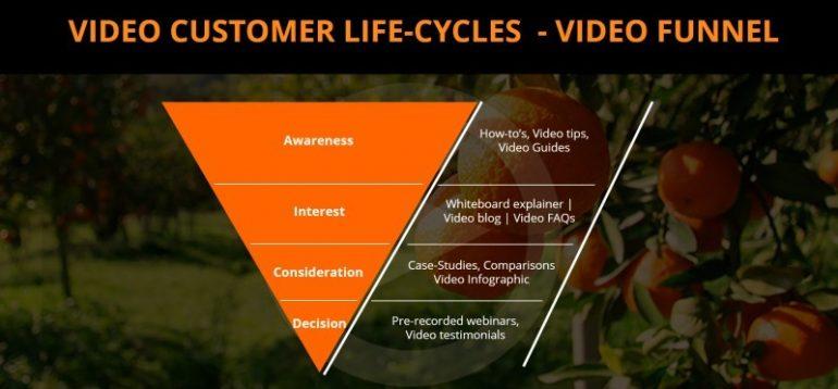 video customer life cycle