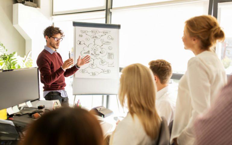 vergadering brainstorm