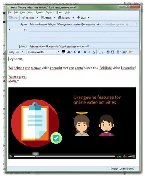 video in email voor videomarketing