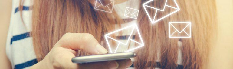 e-mail smartphone