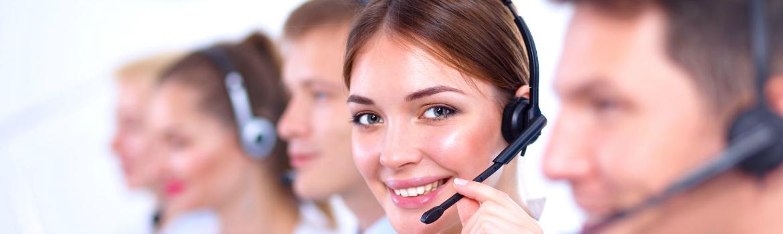 Stockfoto callcenter
