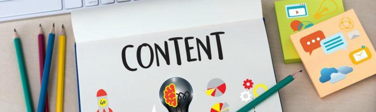 Content header