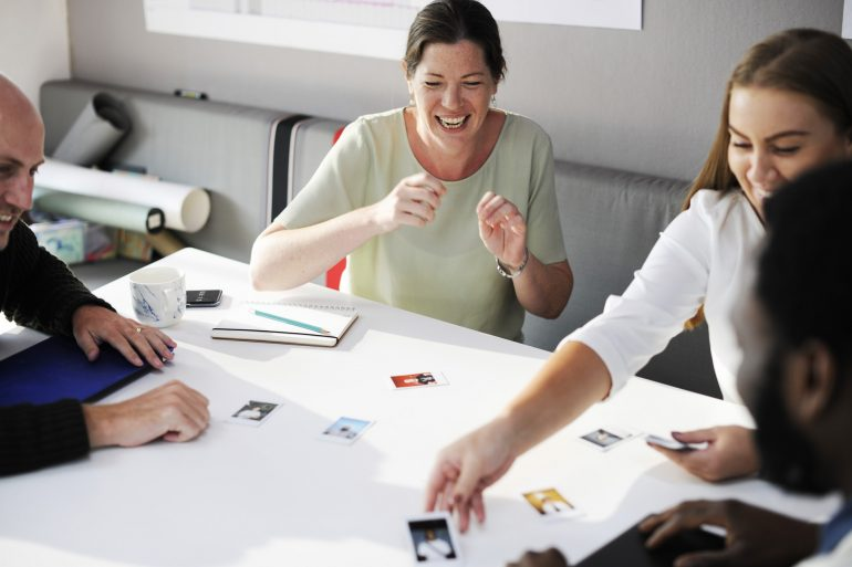 Gedragsverandering brainstorm collega's