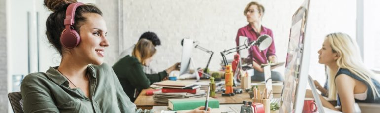 Header digital workplace