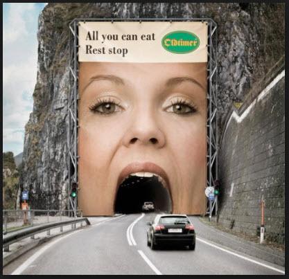 Creativiteit - Tunnel op andere wijze zien